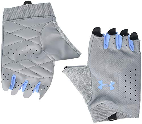 Under Armour Women's Training Glove, Guanti Donna, Grigio (Steel/Carolina Blue), XS