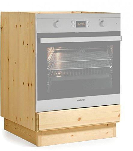 Arredamenti Rustici Base forno cucina da L60- MOBILE GREZZO (NO LUCIDATO)