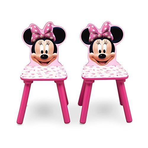 Set Tavolo E Sedie Minnie.Disney Set Tavolo Con 2 Sedie Per Bambini Minnie Mouse