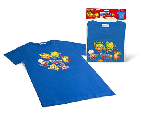 Magic Box 8431618009178 SuperZings - Camiseta, Color Azul