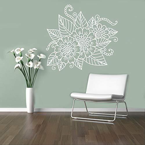 BFMBCH Adesivi murali floreali astratti applique in vinile gioielli per unghie adesivi murali...