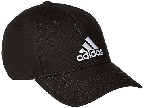 adidas 6 Panel Classic cap Cotton, Headwear Unisex Adulto, Black/Black/White, OSFM