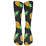Sweet Pineapple Unisex Cute Pattern Crew Socks compression-socks For Boys And Girls