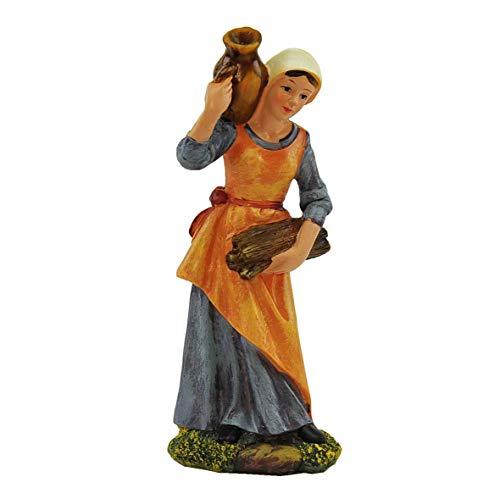 ROSSI ROSA Personaggio cm.20 Donna con Brocca sulla Spalla