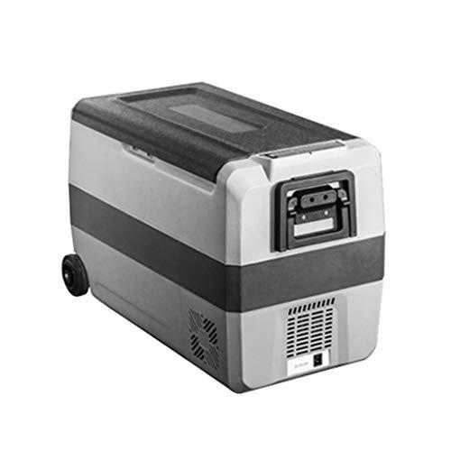Lxn Frigorifero Portatile per Auto e Uso Domestico con Ruote e Manico, Mini congelatore per Guida,...