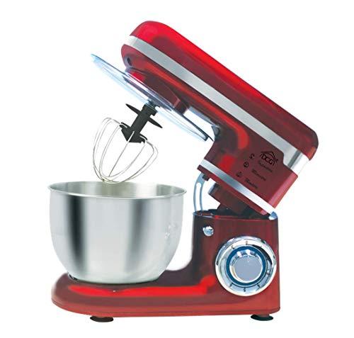 Impastatrice Planetaria Chef KM1301 colore Rosso DCG, ciotola inox 4,5lt, 1000 watt