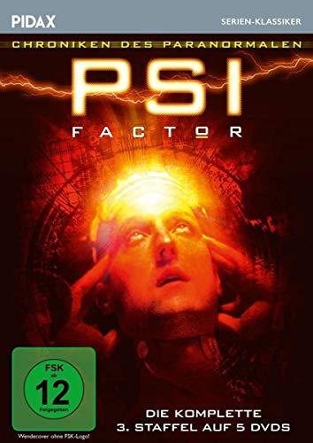 PSI Factor - Chroniken des Paranormalen, Staffel 3 / Weitere 22 Folgen der Mystery-Kultserie (Pidax Serien-Klassiker) [5 DVDs]