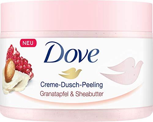 Dove Creme-Dusch-Peeling Granatapfel & Sheabutter, 4er Pack (4 x 225 ml)