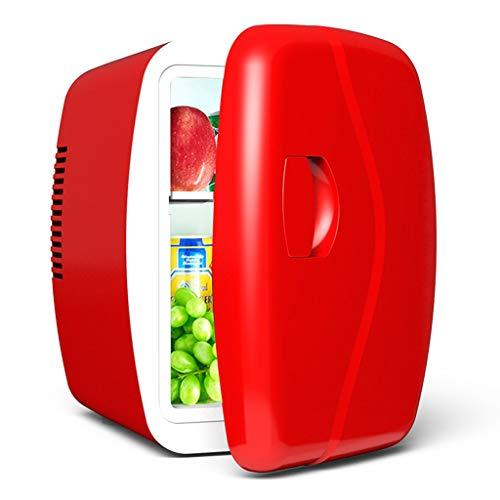 Mini mini dormitorio studente frigorifero Mini casa frigorifero 4L Mini frigorifero (colore: rosso)