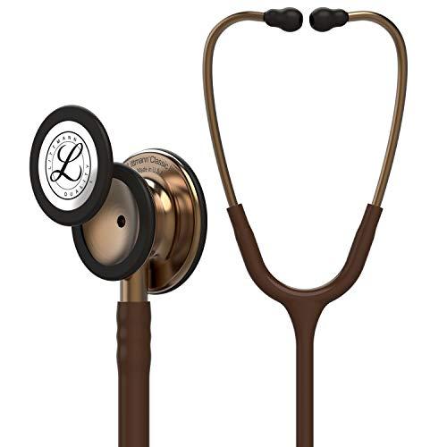 3M Littmann 5809 Classic III Stetoscopio, 69 cm, Cioccolato Finiture Rame