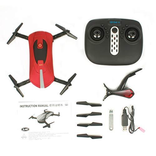 Fantasyworld JD-18 2.4G WiFi FPV 200W Fotocamera Pieghevole 6-Axis Gyro RC Drone Quadcopter con 3D-Flip altitudine Tenere modalità Senza Testa
