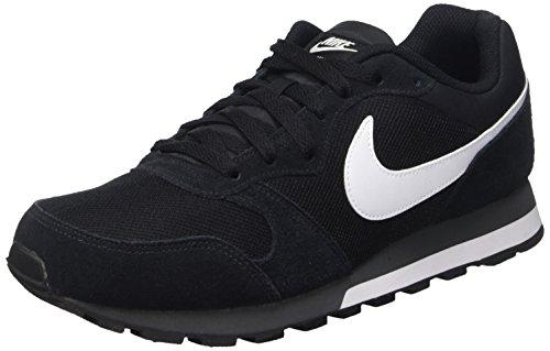 Nike Md Runner 2, Herren Gymnastikschuhe, Schwarz (Black/White-Anthracite 010), 43 EU