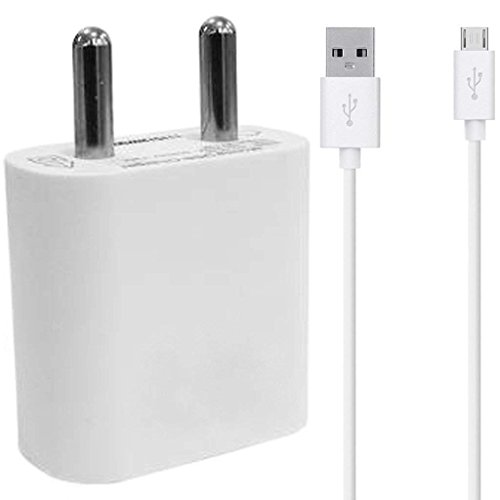 Amazon Kindle Fire HDX 8.9 Compatible Charger Original Adapter Like Mobile Charger Hi Speed Travel Charger with 1 Meter Micro USB Cable Charging Cable (2 Ampere, White)