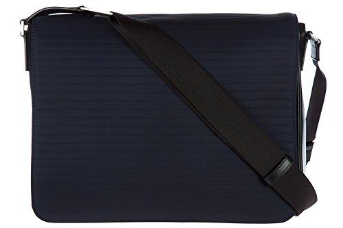 Dior men s Nylon cross-body messenger shoulder bag blu ... f5b82892a26b6