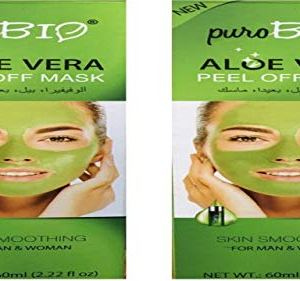 Wonder Star Present Puro Bio Aloe Vera Peel Off Mask (2 Pcs Combo) 2