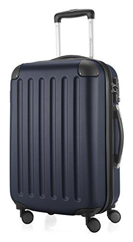 HAUPTSTADTKOFFER - Spree - 3er Koffer-Set Trolley-Set Rollkoffer Reisekoffer Erweiterbar, TSA, 4 Rollen, (S, M & L), Dunkelblau - 2
