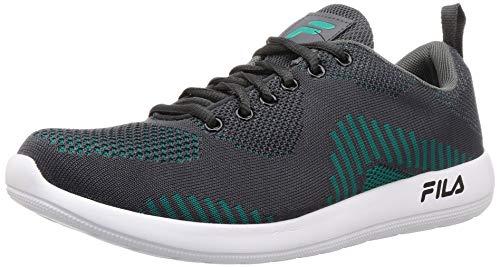 Fila Men's Lardo Gry/AQU Grn Running Shoes-9 UK (43 EU) (10 US) (11008215)