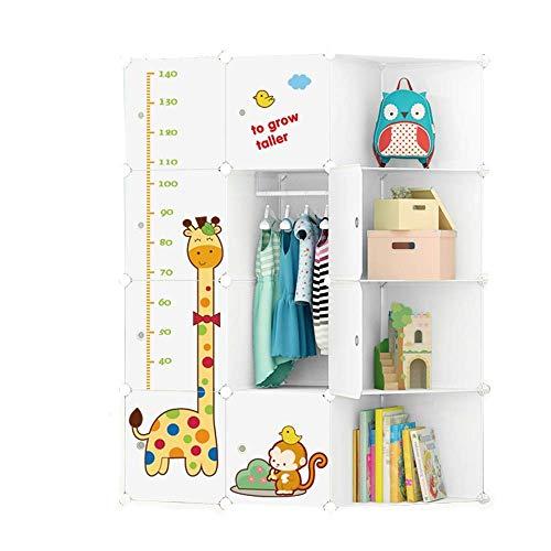 Organizer Cameretta per bambini Cute Pattern Combinazione portatile Armadio, ideale per riporre i...