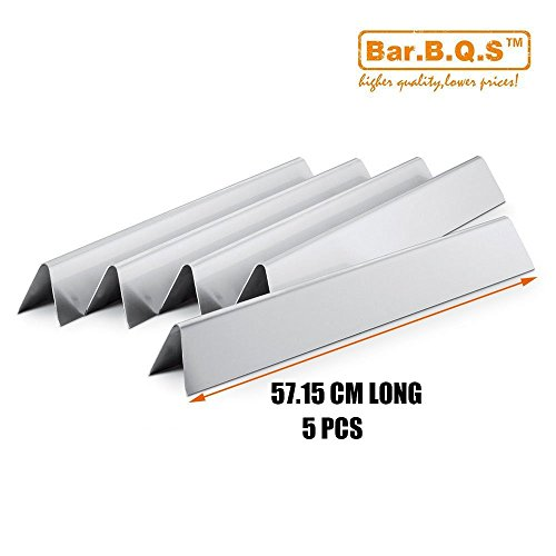 Bar.B.Q.S 7536 7537 Replacement Stainless Steel Flavorizer Bars For ...