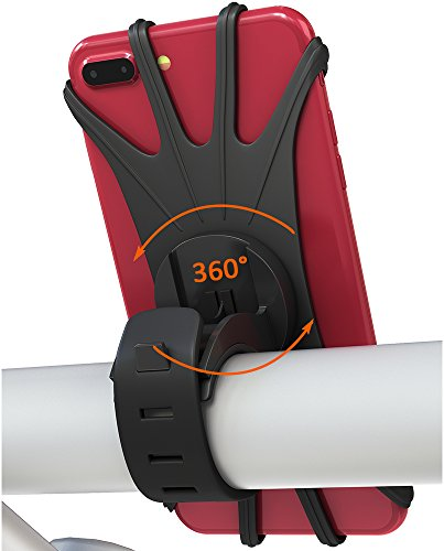 MATONE Porta Cellulare Bici, Supporto Bici Smartphone [Rotazione a 360 Gradi] Manubrio Universale...