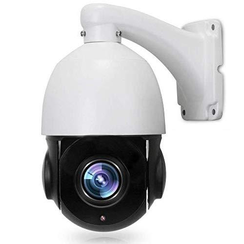 Telecamera PTZ, LEFTEK Mini Outdoor POE IP PTZ Camera 4,0 megapixel (2560x1440 pixel) IR alta velocità visione notturna 20x zoom 4.7 mm-94mm lente 196ft distanza IR H. 265/H. 264 ONVIF