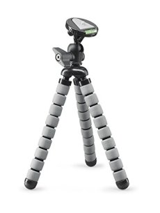Cullmann Alpha 650 Digitales/cámaras de película 3leg(s) Negro, Gris tripode - Trípode (Digitales/cámaras de película, 1,5 kg, 3 Pata(s), 27 cm, Negro, Gris, 10,5 cm)