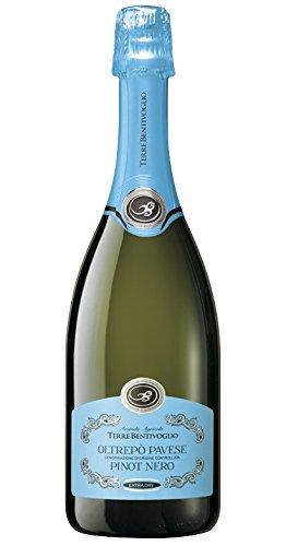 Terre bentivoglio, Pinot Nero Oltrepò Pavese Doc Extra Dry Spumante - 6 bottiglie da 750 ml