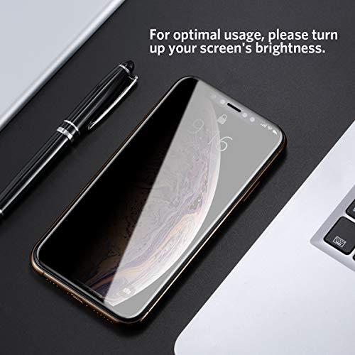 Benks Verre Trempé Anti Espion pour iPhone XS Max Privacy Film de Protection Écran Complet 3D Vitre Protecteur Anti Rayures Ultra Résistant ... 29