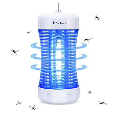 BACKTURE Zanzariera Elettrica, Energetico UV Lampada Antizanzare con Cassetto Raccogli, LED...