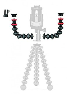 JOBY GorillaPod JB01532-BWW - Kit de Brazo, Brazos Flexibles con Adaptadores y Conectores para Cámara, GoPro, 360 y Otras Cámaras de Acción, JB01532-BWW