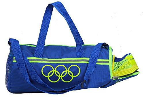 POLE STAR Polyester 26 L Blue Duffel Bag
