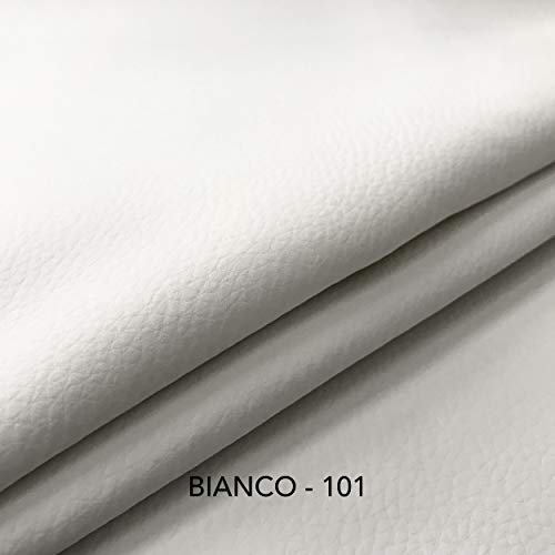 Panini Tessuti Tessuto Ecopelle Morbida Finta pelle-40x140 CM-per arredo DIVANI, SEDIE,BORSE7...