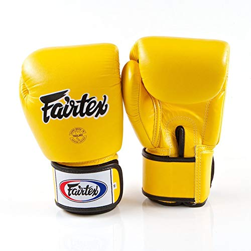 Fairtex Muay BGV1 - Guanti per muay thai e kick-boxing, misura: 284 g, 332 g, 397 g, 454 g, colore:...