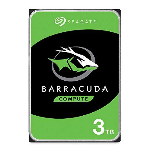 Seagate Barracuda Hard-Disk Interno, 3 TB