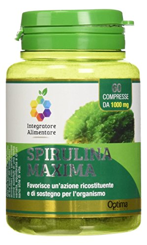 Optima Spirulina Maxima 60 Compresse