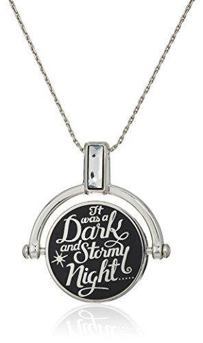Alex and Ani A Wrinkle in Time' Dark and Stormy Night Spinner Expandable Necklace