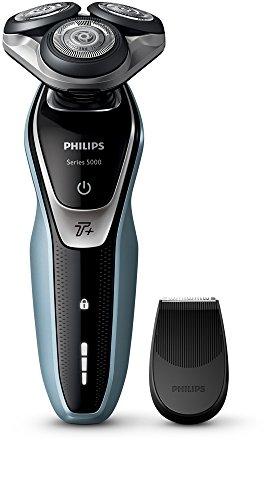 Philips-S553006-Serie-5000-Wet-and-Dry-Afeitadora-elctrica-para-hombre-enchufe-de-bao-de-2-pines