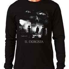 35mm – Camiseta Manga Larga El Exorcista-The Exorcist Terror Movie, Hombre