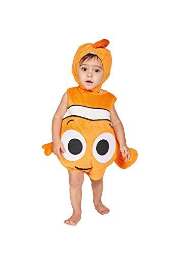 Amscan dcne de ta06–Disfraz para niños Nemo Colcha de Peluche con Gorro, 68–80cm