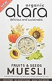 Alara Wholefoods Fruits & Seeds Organic Muesli, 650 g, Pack of 6