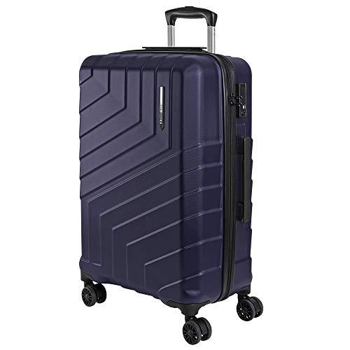 Valigia Trolley da Viaggio Rigida - Bagaglio da Stiva Ultra Leggero in ABS con Manico in Alluminio -...