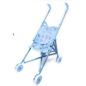 Doll Carrier- Carrito Infantil de Juguete Plegable Color Azul