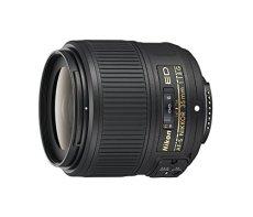Nikon Nikkor AF-S ED 35 mm f:1.8G - Objetivo para Nikon (distancia focal fija 35 mm, apertura f/1.8-16, diámetro: 58 mm), negro