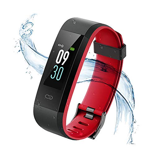 Vigorun Fitness Tracker, Orologio Fitness Donna Uomo Schermo colorato con cardiofrequenzimetro...