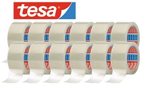 tesa-64014-Klebeband-Paketklebeband-Packband-66m-x-50mm-12-Rollen-Transparent