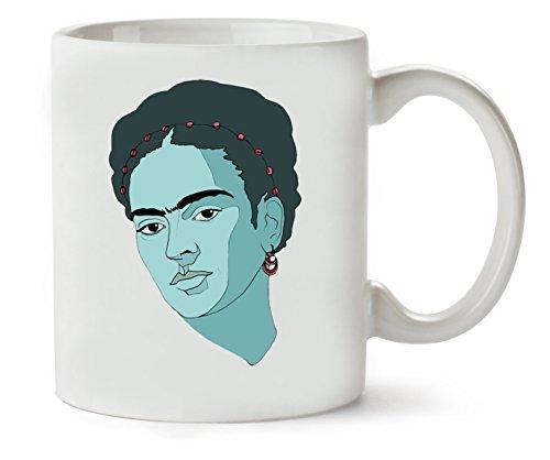 1GD Frida Kahlo Woman Taza para Café Y Té