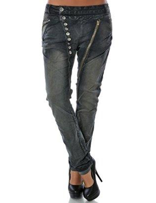 Daleus-Damen-Boyfriend-Jeans-Hose-Knopfleiste-DA-14145