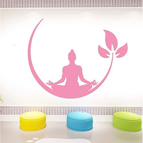 Acrilico Yoga Wall Sticker 3d Tridimensionale Impermeabile Protezione Ambientale Modello Parete...