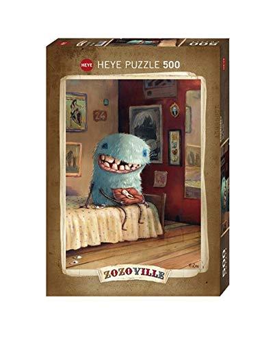 Heye Puzzle Dente di Latte Zozoville, 500 Pezzi, VD-29701