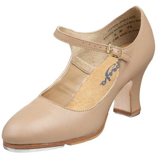 Capezio Women's Manhattan Xtreme Tap Shoe,Caramel,6.5 W US